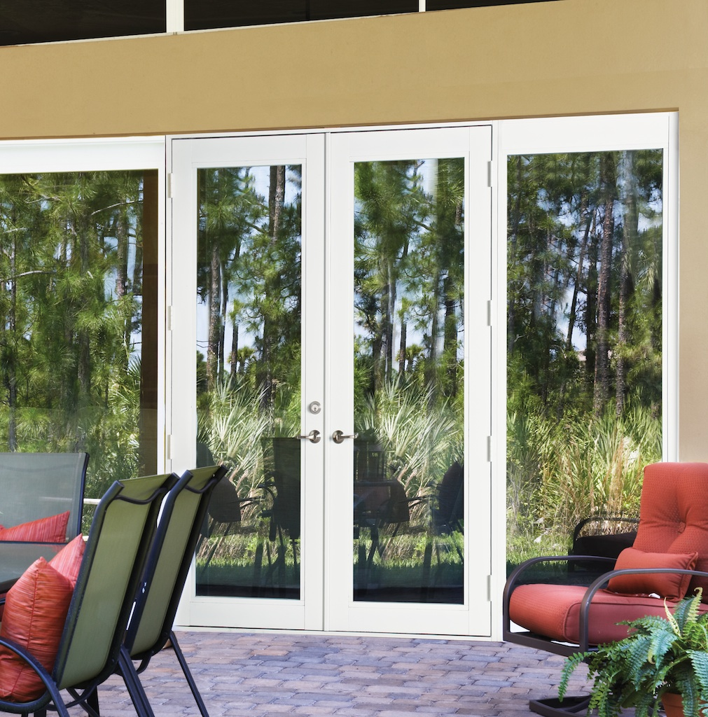 Hurricane French Doors